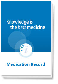 knowledge is the best medicine create medication record